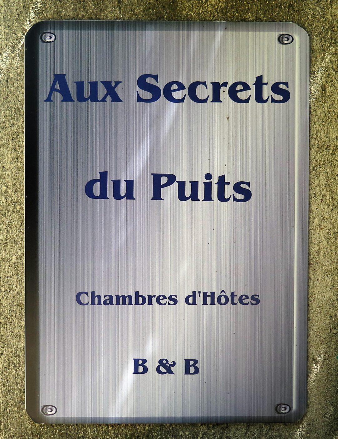 Aux Secrets du Puits